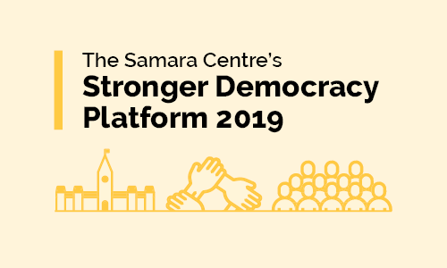 Stronger Democracy Platform