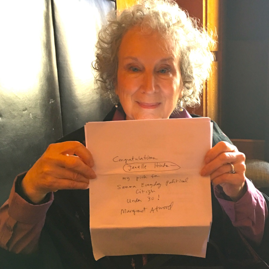 Margaret Atwood (Janelle Hinds)